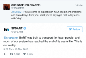 BART civic engagement online