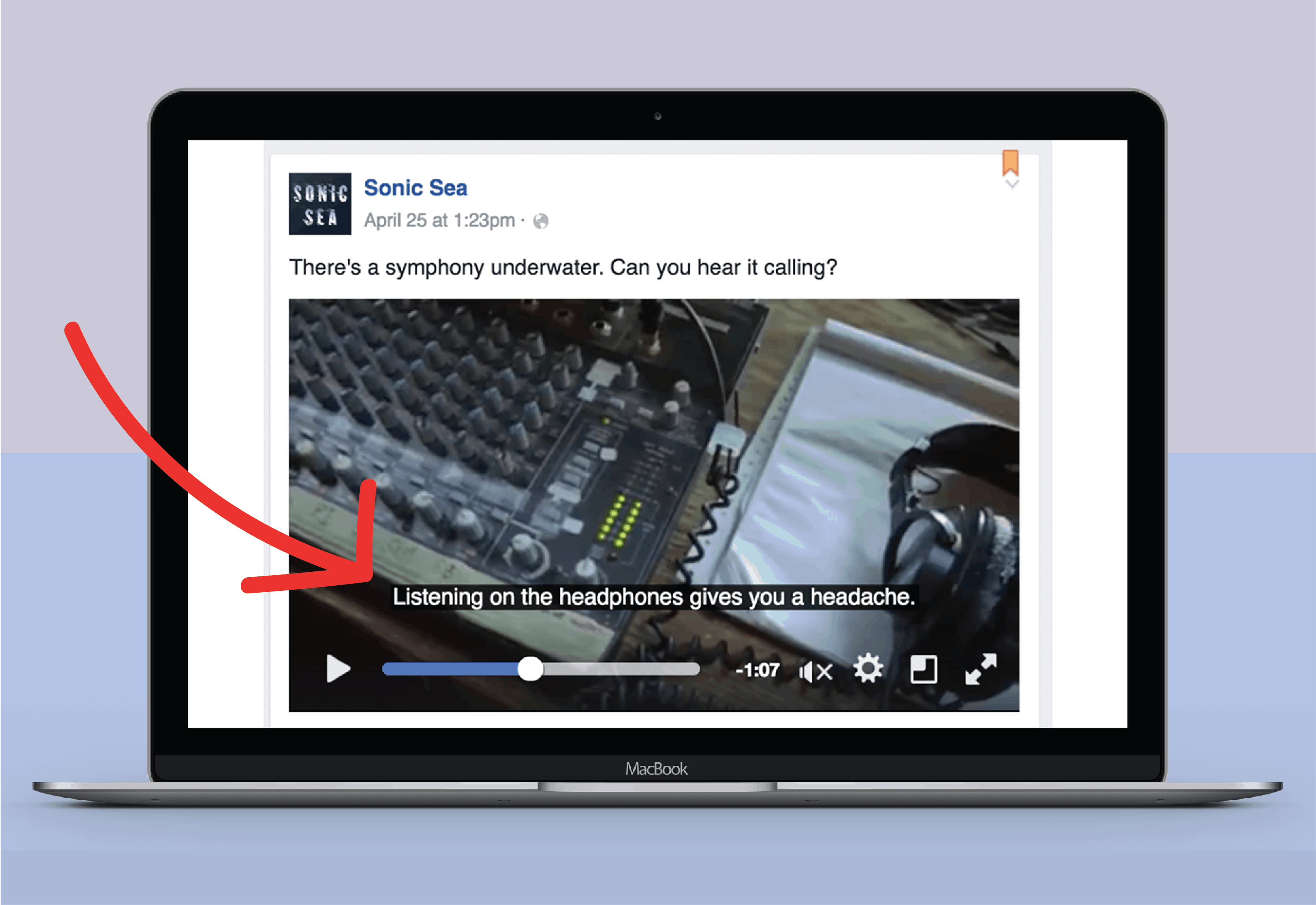 how to boost facebook engagement using video subtitles